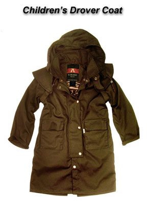 Children's Drover Coat